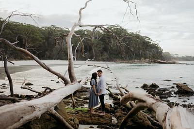 Jess & Brad   Engagement   Jervis Bay, South Coast of NSW