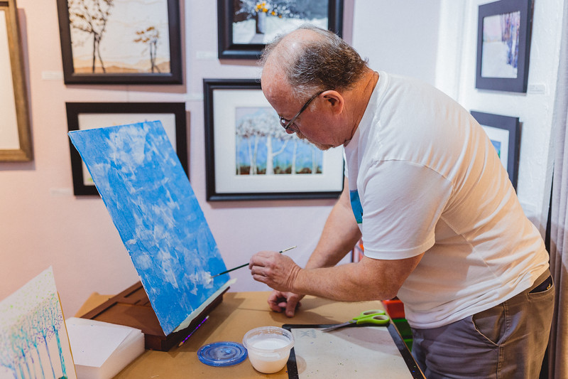 Bob Smedley Art Process