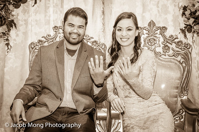 Thalia & Moses Engagement:  May 27, 2017