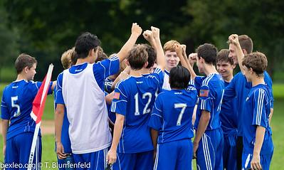 JV Soccer Boys vs Westerville Central
