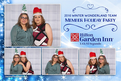 Hilton Holiday Party