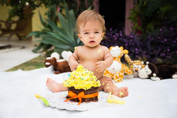 Smash the cake Joao Guilherme