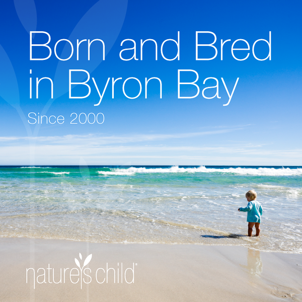 Nature's Child Byron Bay Banner