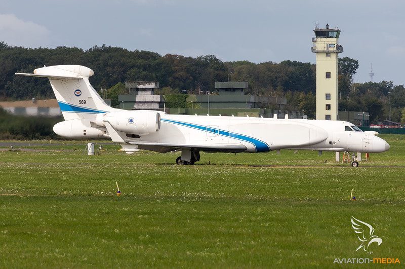 Israel - Air Force   Gulfstream G550 Nachshon   569