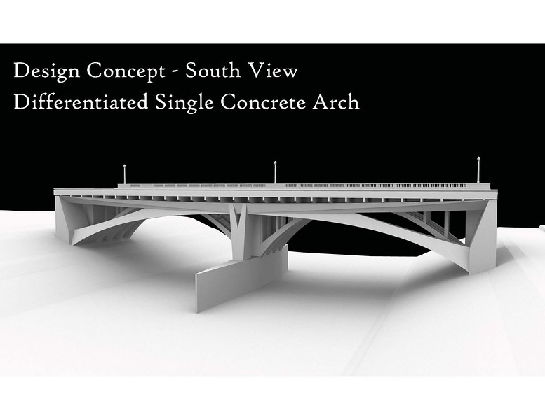 2011, Single Concrete Arch Design