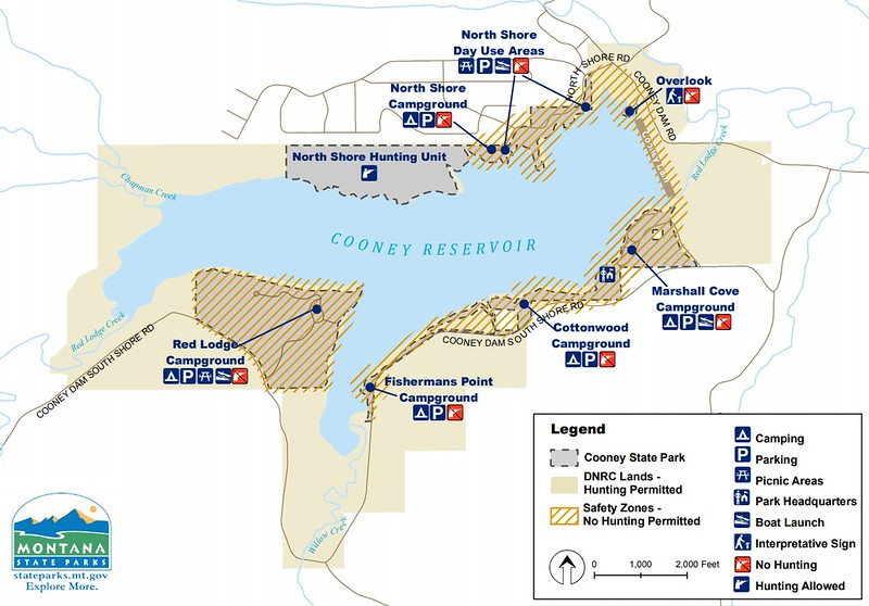 Cooney State Park (Hunting & Safety Zones)