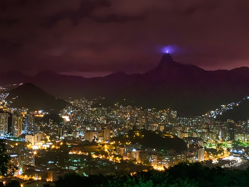 View of Corcovado
