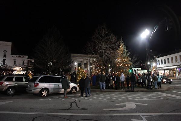 2010 Chagrin Falls Christmas Tree Lighting