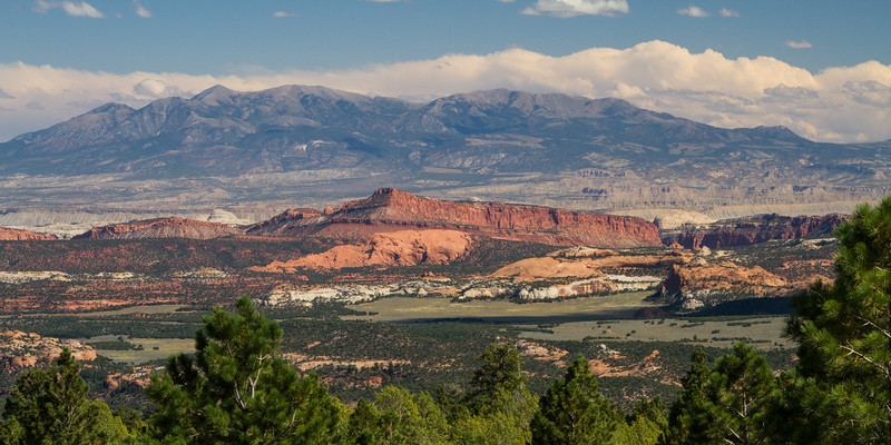 In the mountains above Capitol Reef