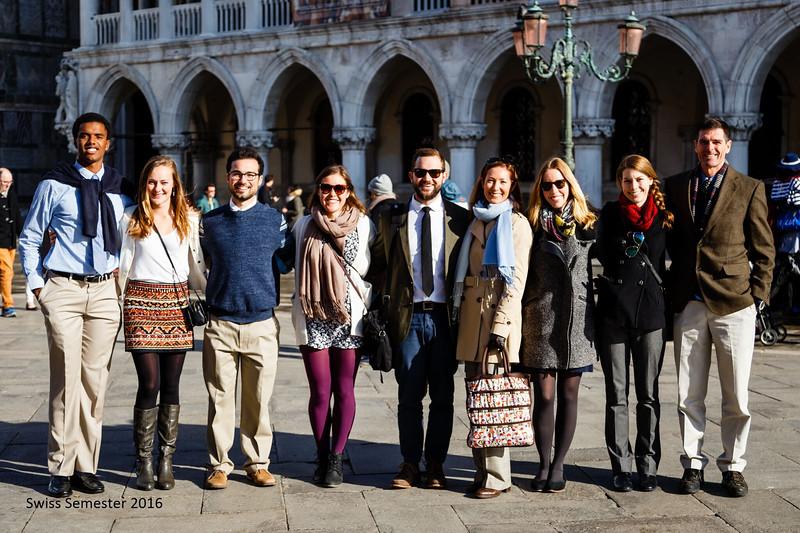 Swiss Semester faculty in San Marco