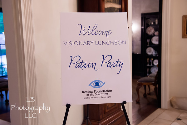 Visionary Luncheon Patron Party 2019