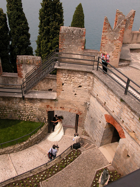 Wedding photography at Castello Scaligero, Malcesine / Ted Wenz Photo