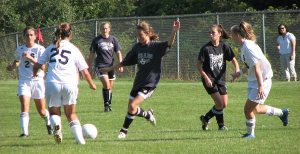 Varsity Girls Soccer vs Ridgefield - 09/05/09