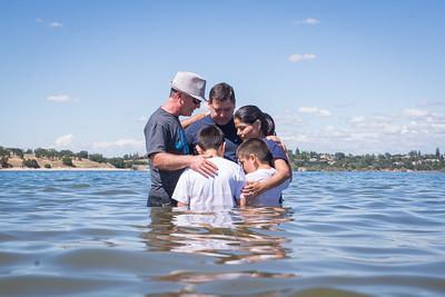 May 15, 2016 Lake Baptism