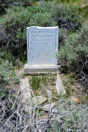 Bodie Cemetery 2016