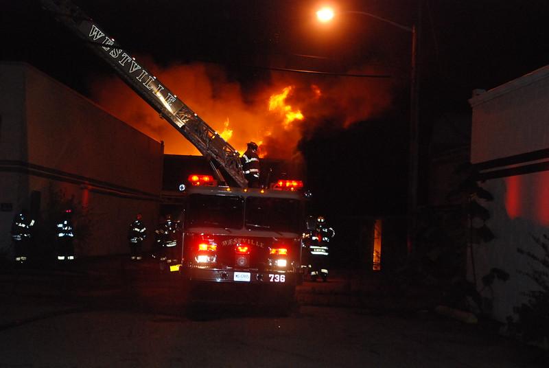 10-11-2014(Gloucester County) WESTVILLE - 1 Deadline Drive - Mars Graphics - 2nd Alarm Building Fire