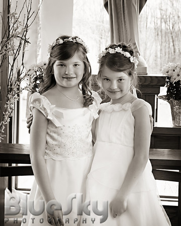 Marisa & Samantha's First Communion