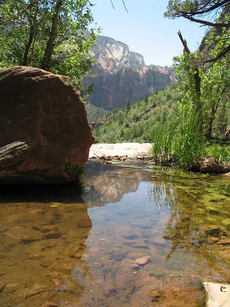 Zion Emerald Pools