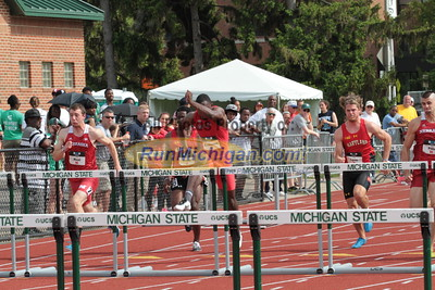 110M Hurdles Men Prelims - 2015 Big Ten Outdoor T&F Championships