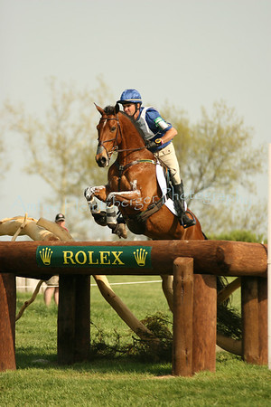 Phillip Dutton and Connaught at Rolex 2008