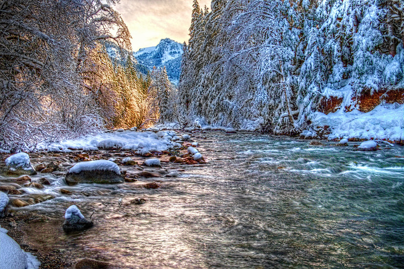 Stilly River Winterscape