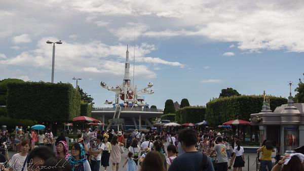 Disneyland Resort, Tokyo Disneyland, Tomorrowland, Rocket Jets, Rocket, Jets