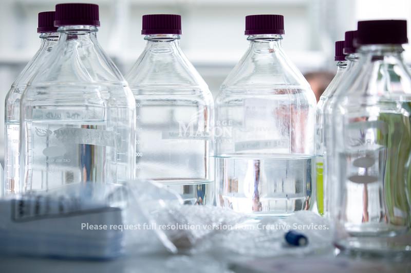 Close up lab shots.  Photo by:  Ron Aira/Creative Services/George Mason University
