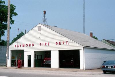 RAYMOND - HARVEL FIRE DEPARTMENT  -  RAYMOND