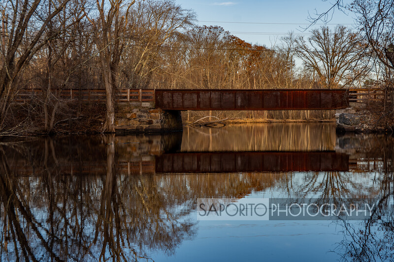 Ipswich River - Old Rail Bridge