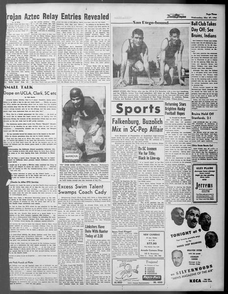 Daily Trojan, Vol. 37, No. 93, March 27, 1946