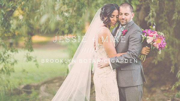 JESSIE + MIKE ////// BROOKLYN BOTANIC GARDEN