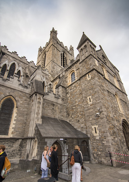 Evening light on Christ Church Cathedral