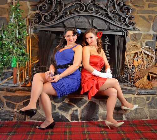 Bringing Back the 1940's Vintage Fashion Photography at The Glen Loch Mill  Restaurant in Jamesville NY