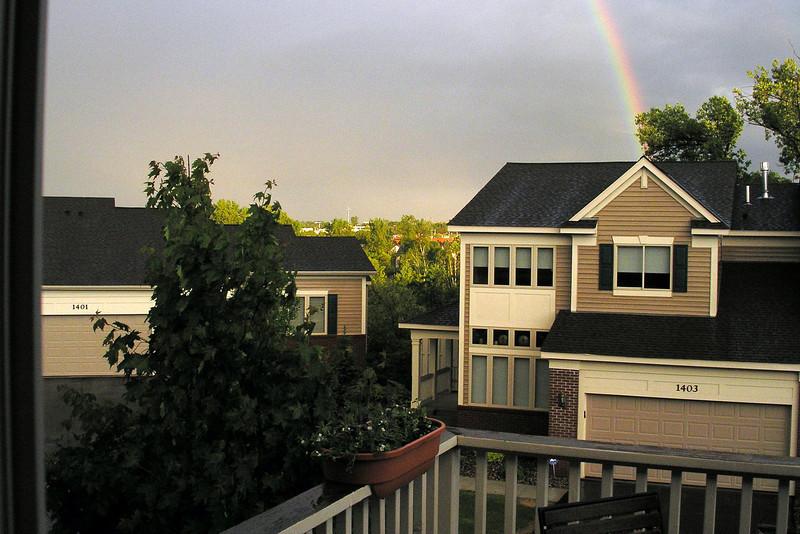 2005-05-26 - Evening rainbow
