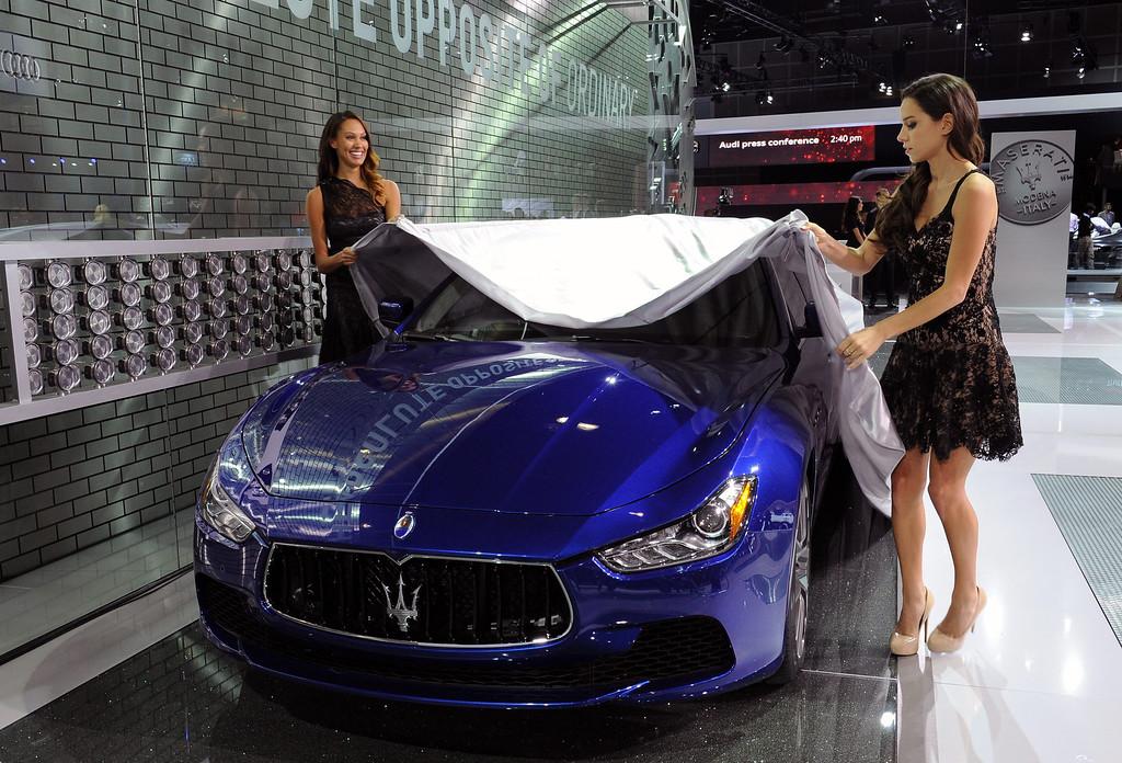 . 2014 Maserati Chibli at the 2013 LA Auto Show in Los Angeles, California, USA, 20 November 2013.  EPA/BOB RIHA JR