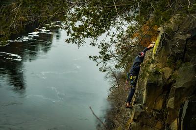 Rock Climbing - Taylor Falls, MN