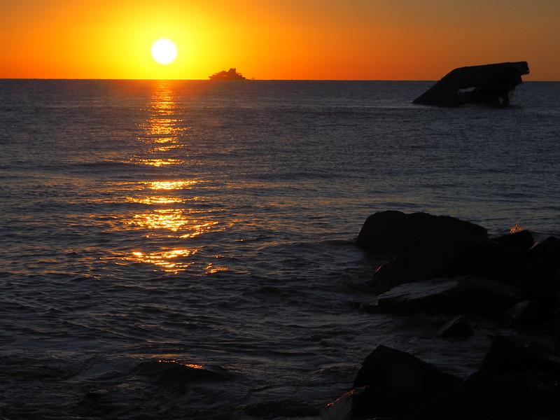 Cape May Ferry sunset.JPG