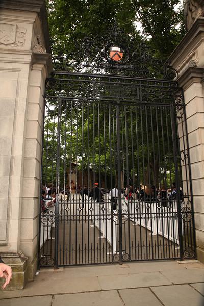 Commencement Gate Photos 2012