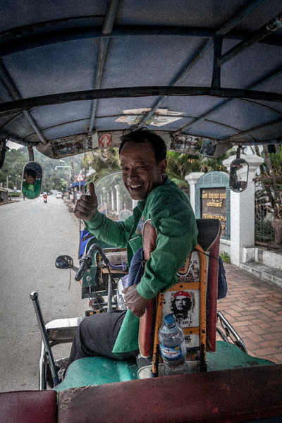 My Tuk Tuk Driver for the day
