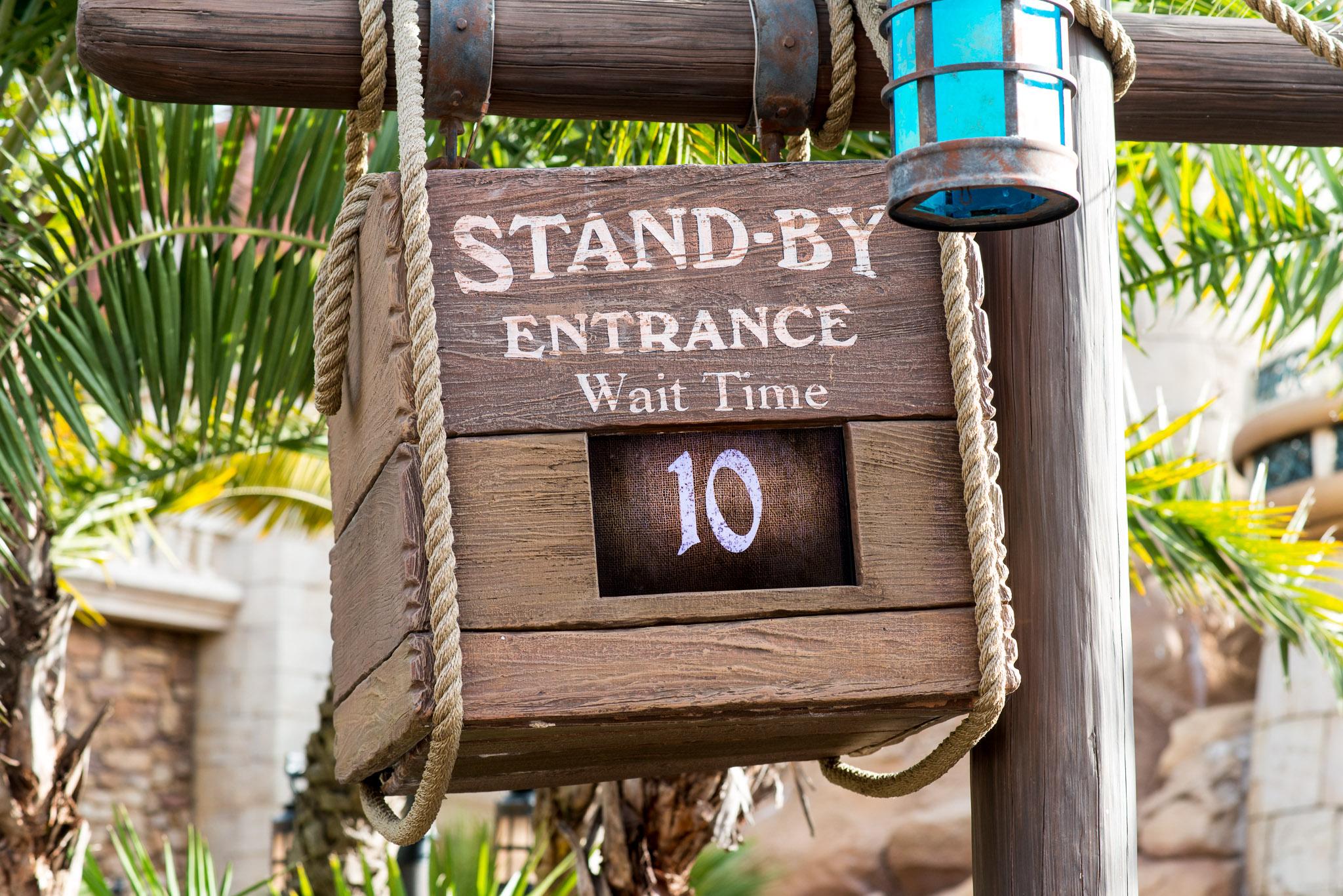 Little Mermaid Wait Time - Walt Disney World Magic Kingdom
