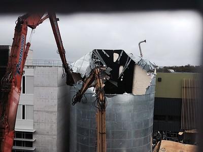 Sunshine Coast University Hospital - Tank High Reach Demolition