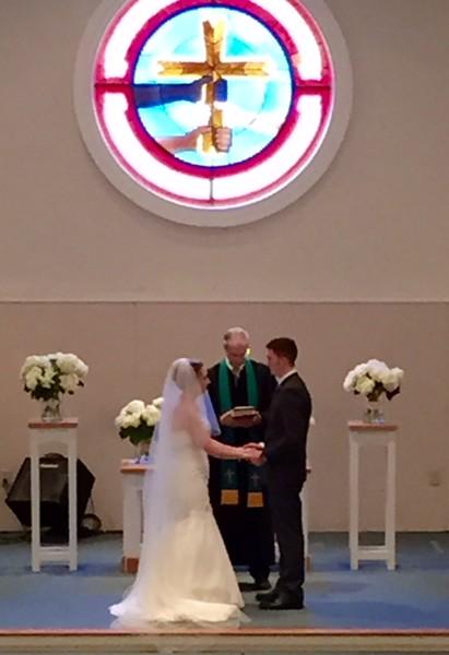 Ben & Arianna Dowell wedding
