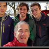 2018-01-14 UVM College Visit Burlington Winter Snow V(2) The Five Seasons Wyatt Dad Mom Raf Friend X