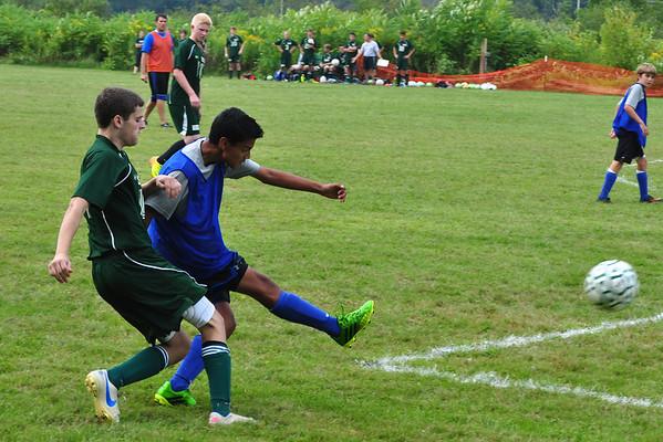 Drury at McCann Tech Boys' Soccer Scrimmage - 083113