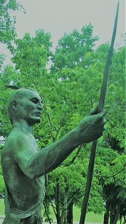 Cherokee Statue