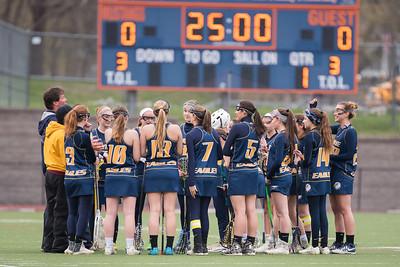 Wayne Eagles Varsity Girls Lacrosse at Penn Yan 4-29-16