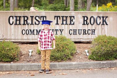 Jackson Preschool graduation