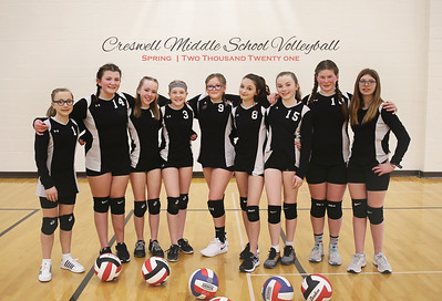 Creswell Middle School Volleyball