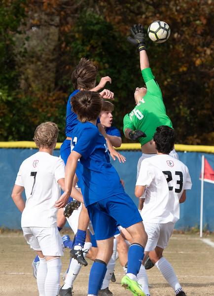 Loyola Blakefield - Archbishop Curley Soccer Semifinal