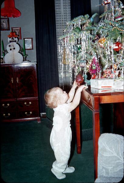 baby richard at christmas tree.jpg